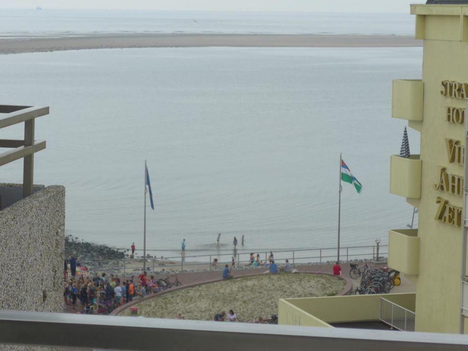 Blick Richtung Meer und Strand