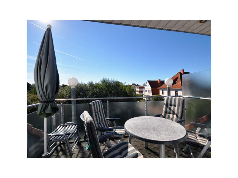 Maisonette Ferienwohnung auf 2 Ebenen im ausgebauten Dachgeschoss am Steingarten