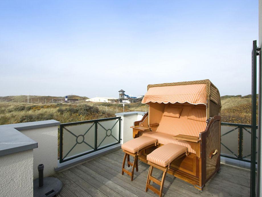 Strandkorb für gemütliche Sonnenstunden