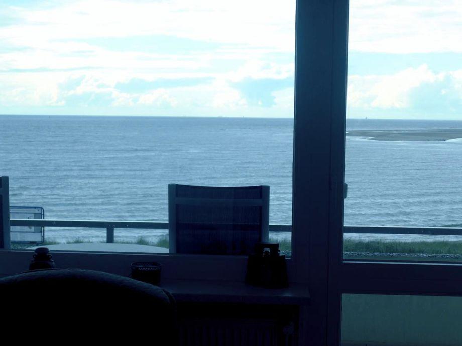 Toller Blick vom Balkon