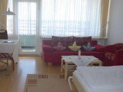 Ferienwohnung 105 - FeWo mit Meerblick - Ostbalkon - Haus Seeblick