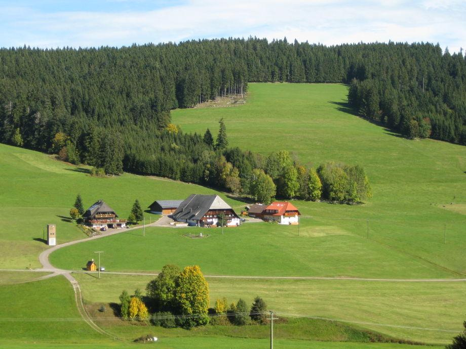 Der Hanisenhof mit Nebenhaus