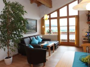 Ferienwohnung Studiowohnung mit Traumblick im Landhaus Florian
