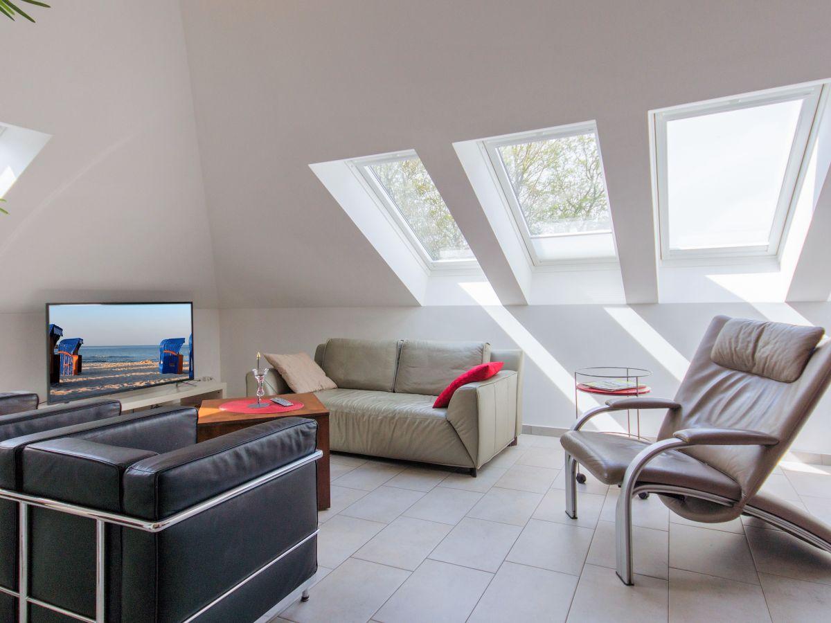 Ferienwohnung casa mediteran whg 2 insel r gen glowe for 55 qm wohnzimmer