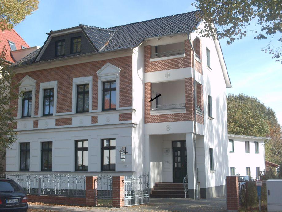Stadtvilla mit Ferienwohnung 1. Obergeschoss