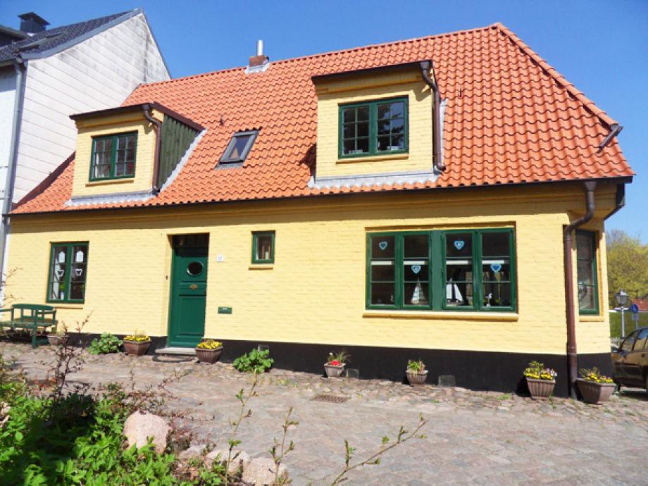"""Ferienhaus """"Kapitänshaus"""" am einmaligen Ostseefjord"""