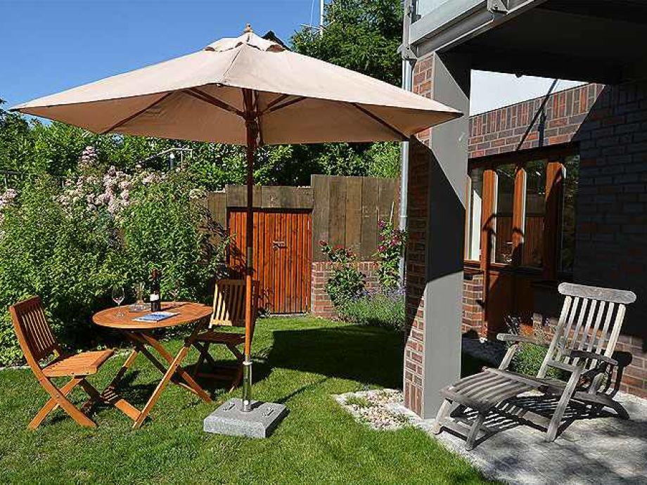 Ruhe und Idylle pur in dem romantischen Garten