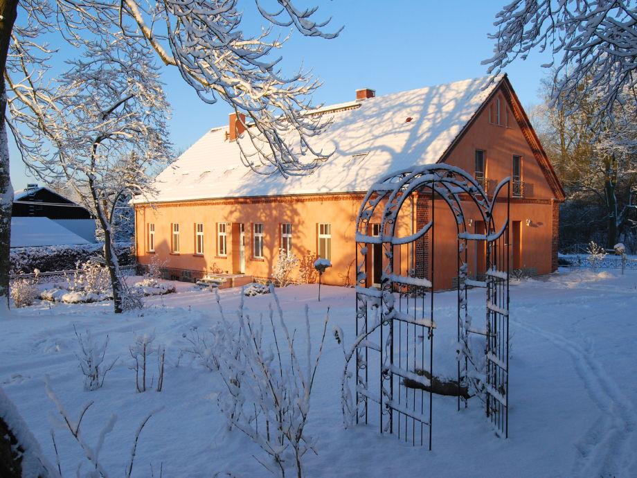 Wintertraum im Feriendomizil Alter Garten