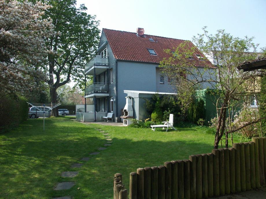 Haus Seefalke vom Garten aus gesehen