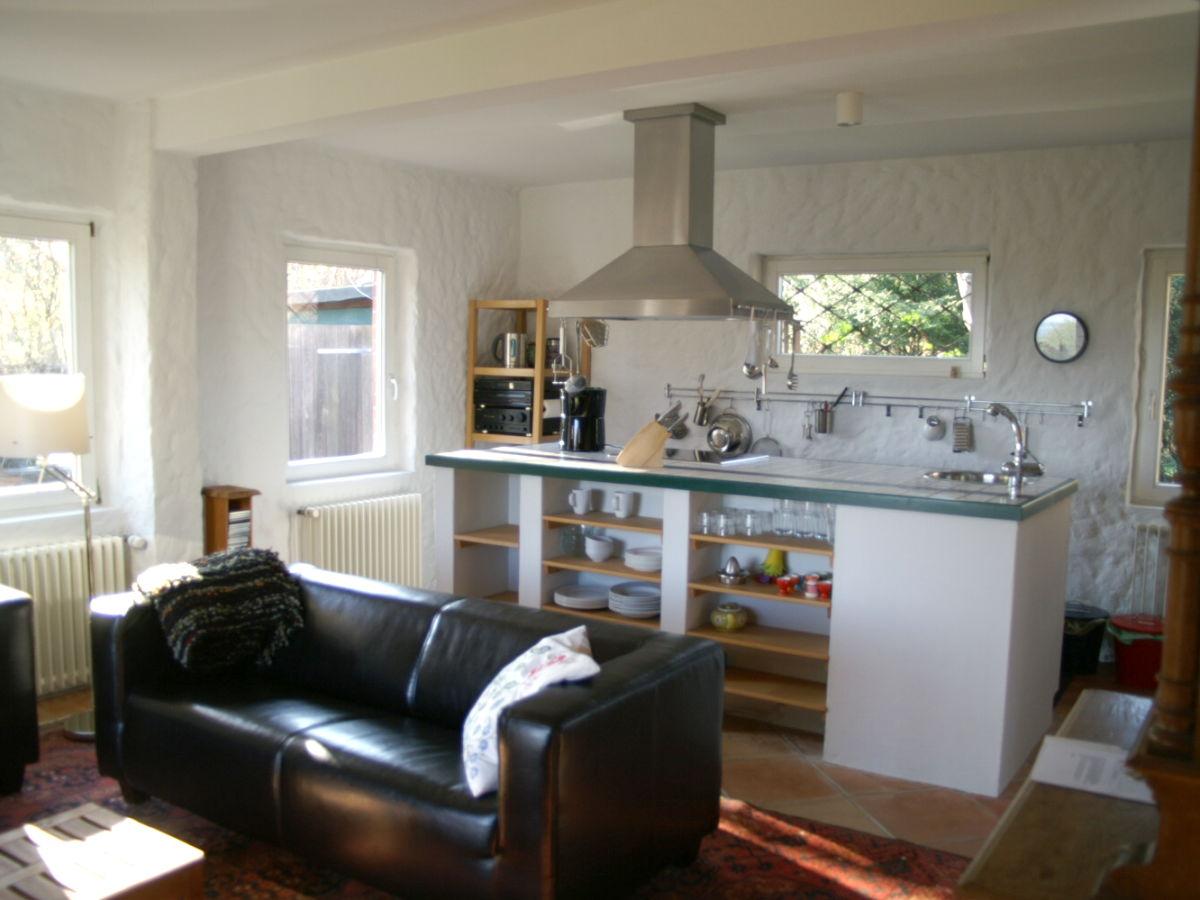 wohnzimmer mit integrierter küche:Wohnbereich mit offener Küche ...