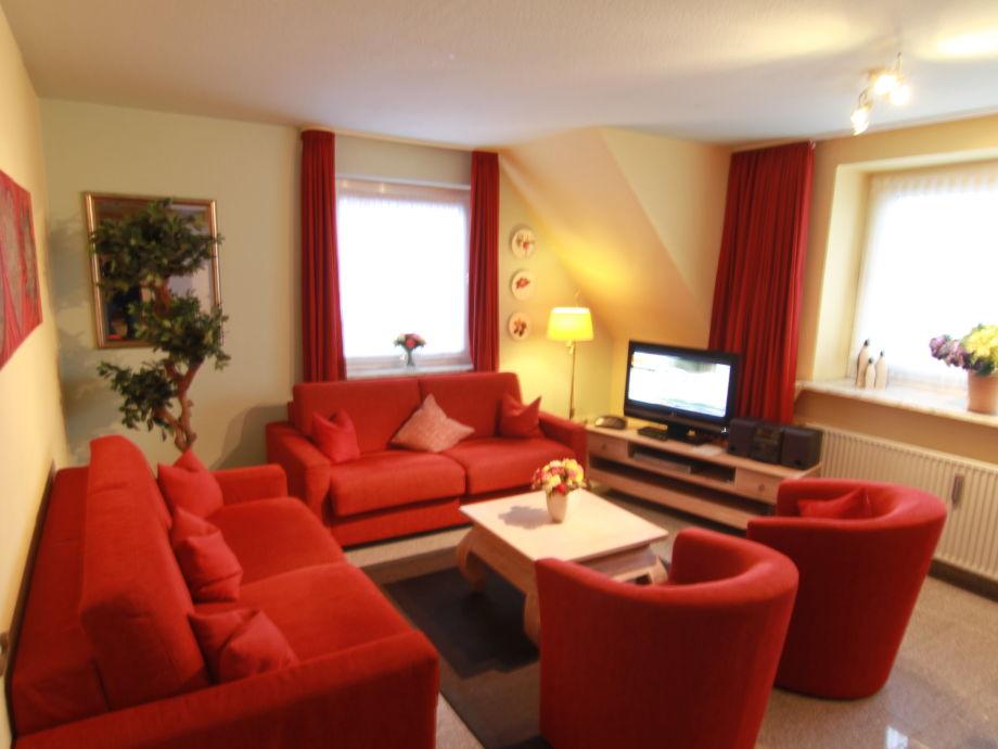 Wohnraum Whg. 3 für 4 -6 Gäste