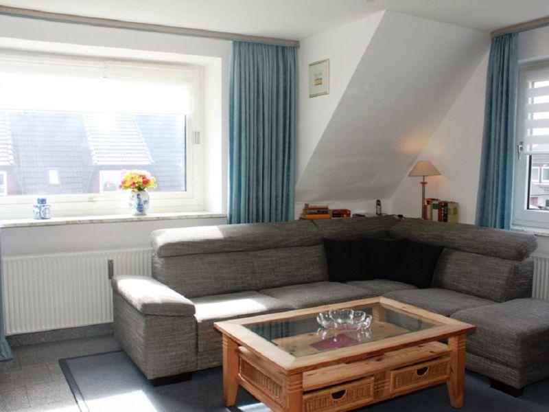 Sylt - Westerland Ferienwohnung 4 mit 2 Schlafräumen