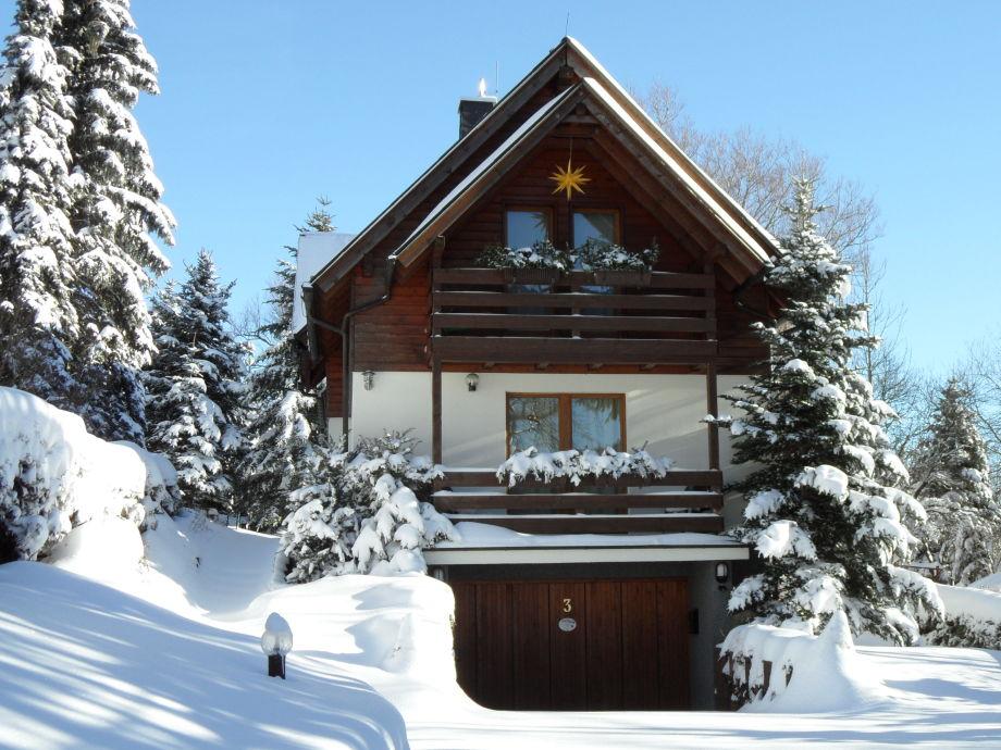 Ferienhaus im Winter 2012