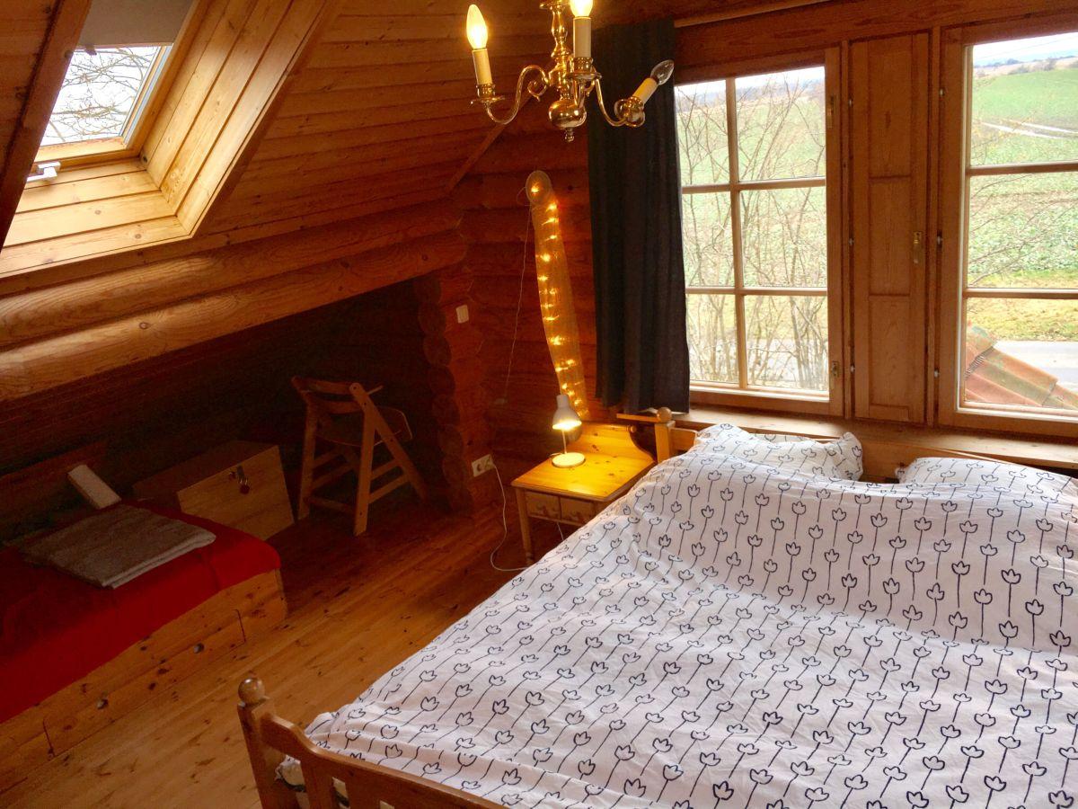 Ferienhaus das rote blockhaus schlei firma topline for Kleines doppelbett