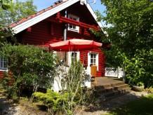 Ferienhaus Das rote Blockhaus