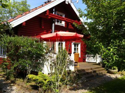 Das rote Blockhaus