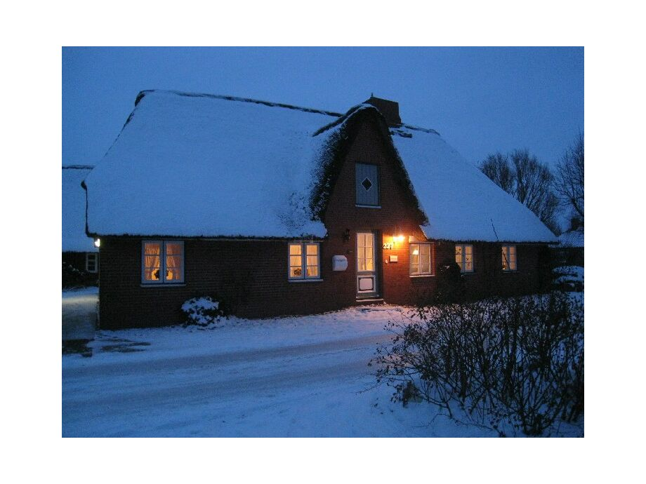 Das Driewers Hus im Winter