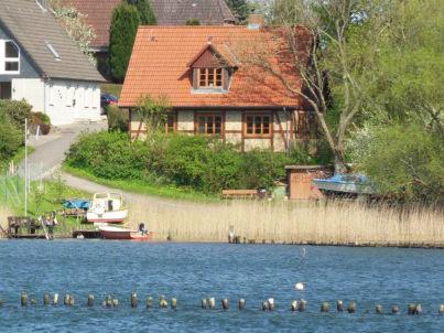 """Ferienhaus """"Fischerhaus"""" auf Wassergrundstück in Kappeln an der Schlei"""