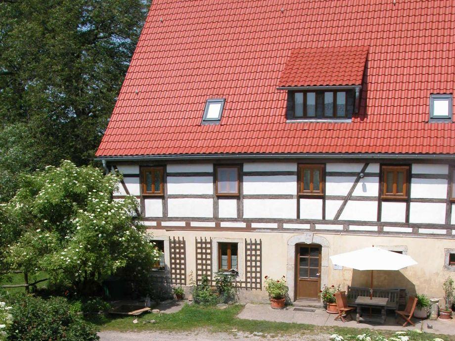 das Haupthaus des Sanderhofes