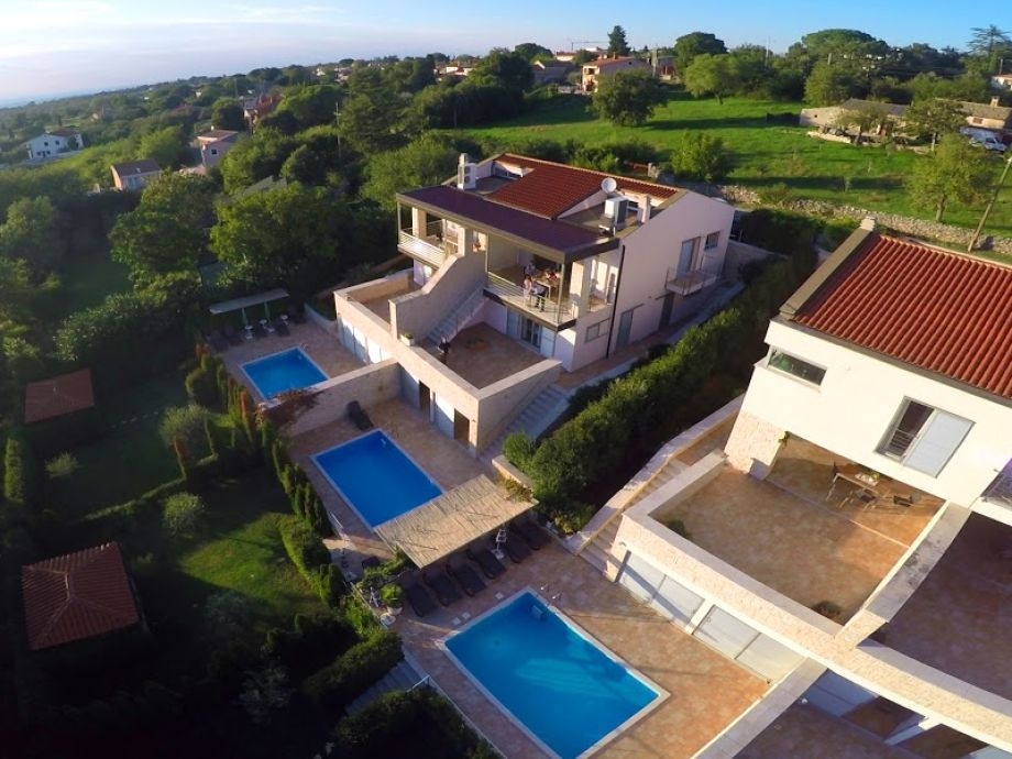 Drohnenbild Villa Sabine