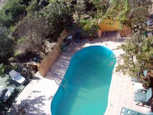 Ferienwohnung Mirte am Meer, mit Pool