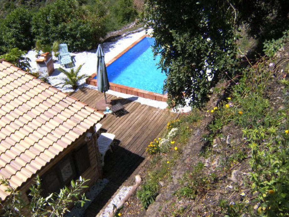 Casa Ranita von oben betrachtet