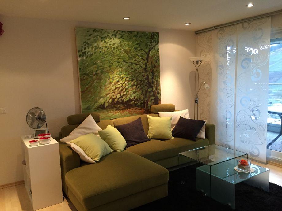 Lin´ving Room, tasteful arrangement and fantastic view