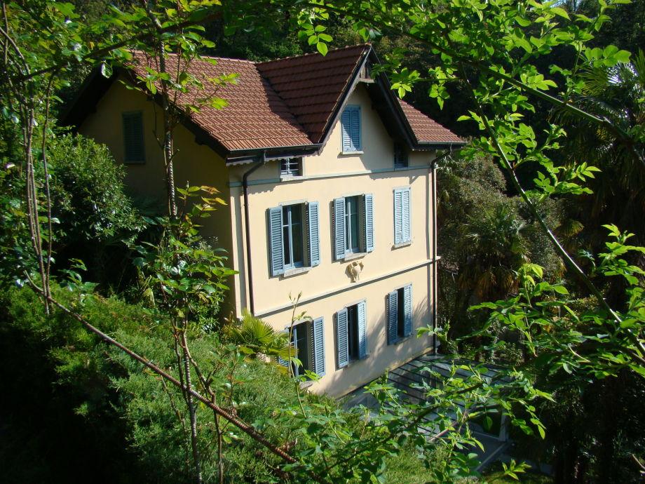 Blick aufs Haus