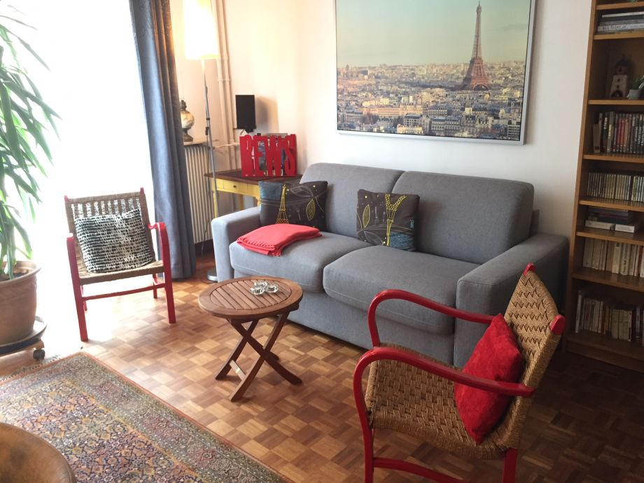 Außenaufnahme Ferienwohnung Montmartre