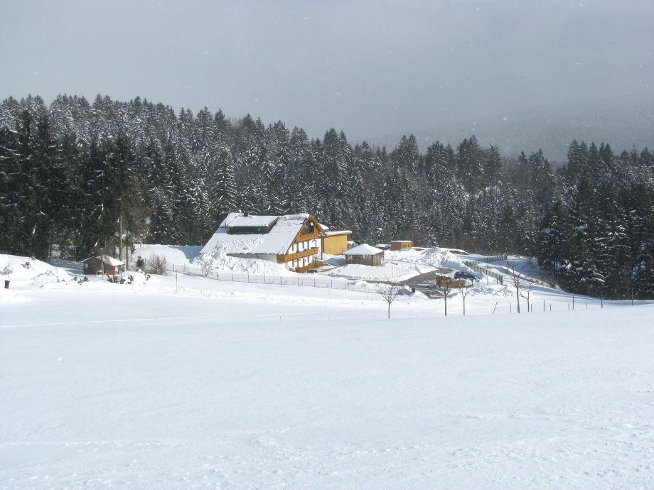 Haus Spannbauer im Winter