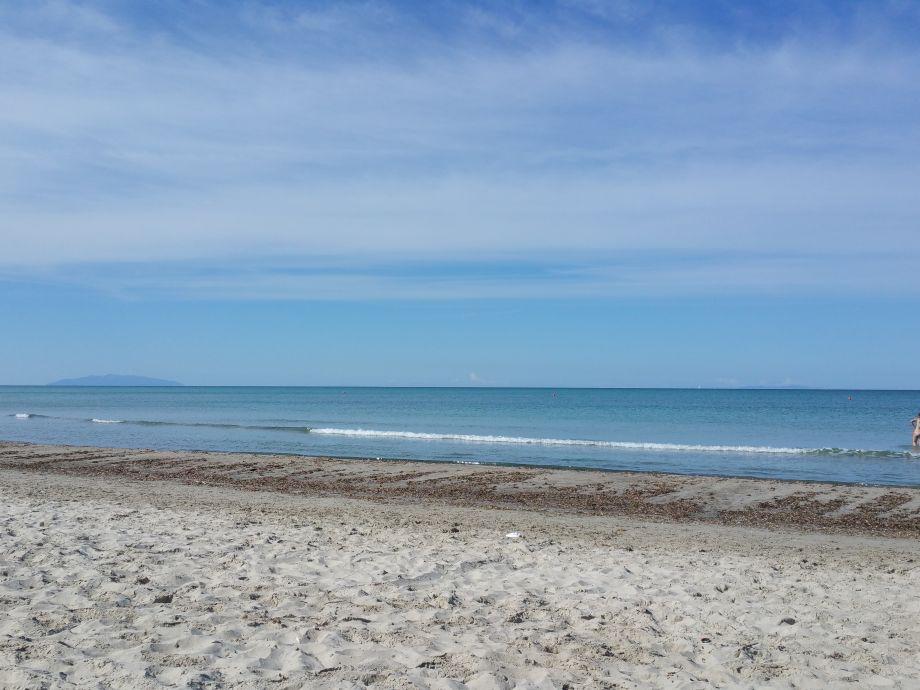 Wenige Minuten zu Fuß der Strand von Vada
