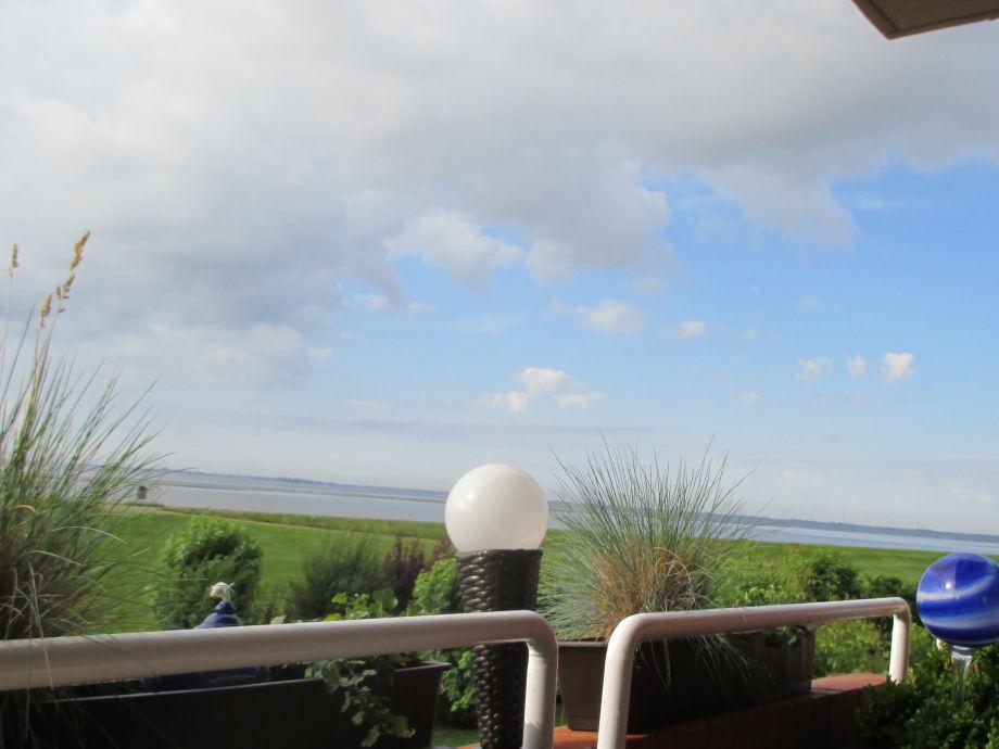 Blick aufs Wasser vom Balkon aus