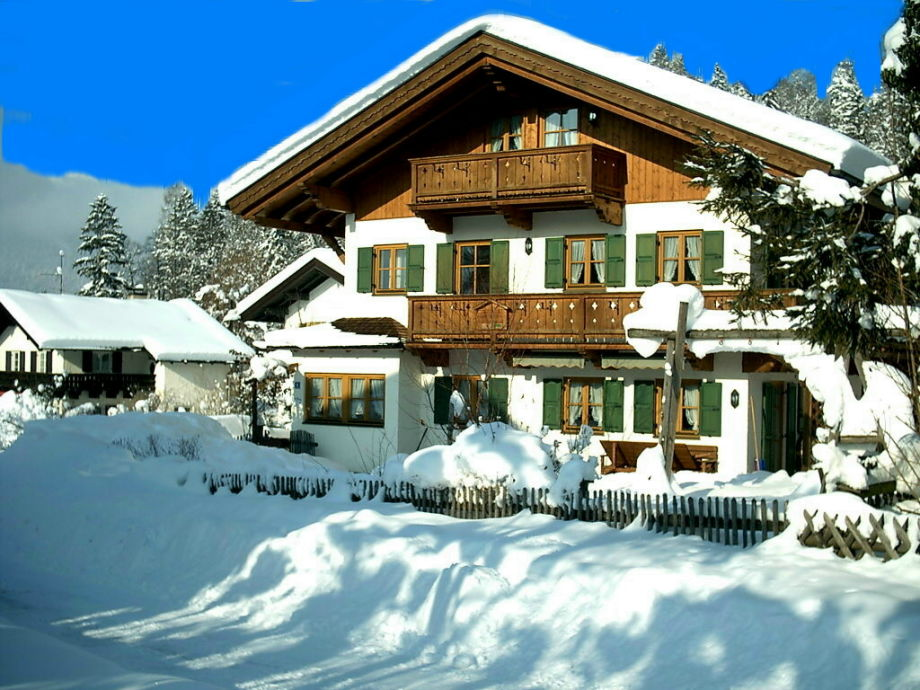 Ferienhaus Hohenleitner im Winter
