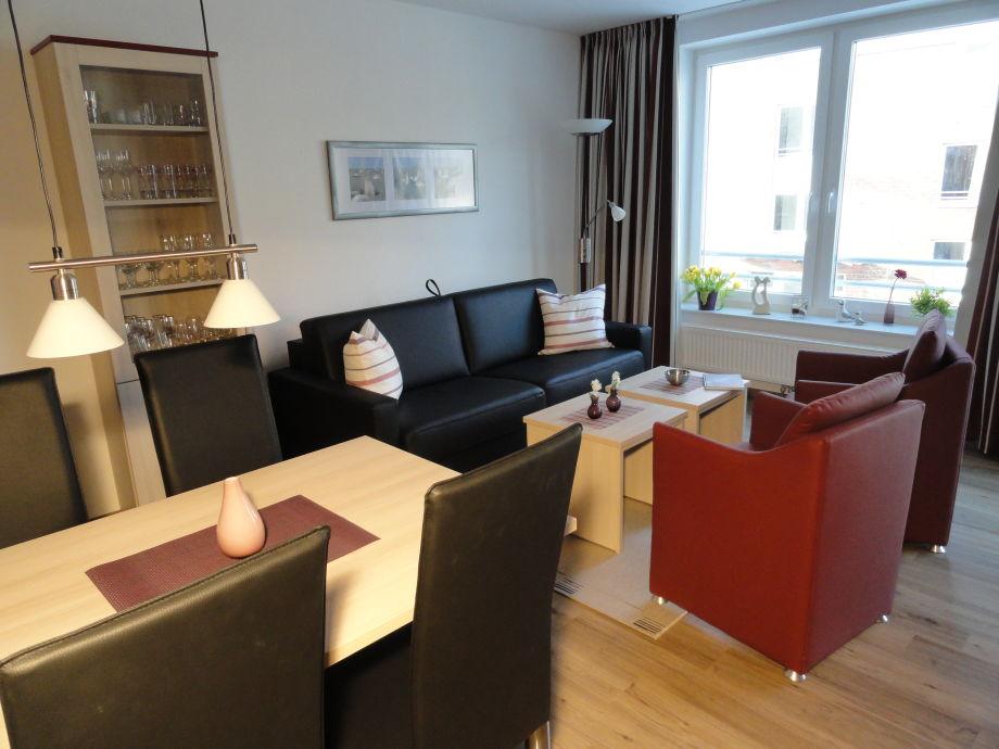 Wohnzimmer mit Schlafsofa Residenz Hohe Lith 3.11
