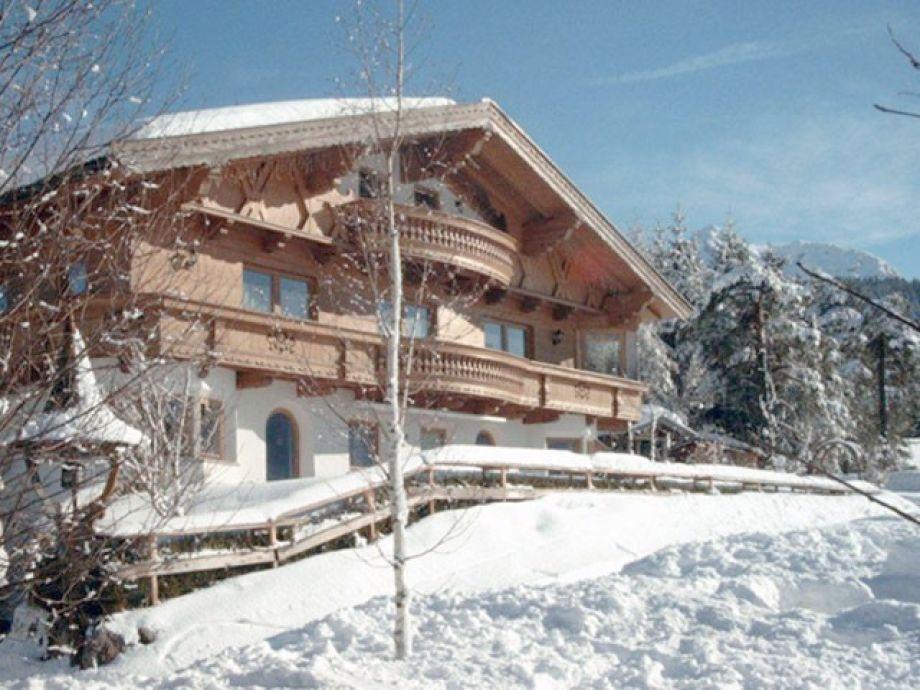 Ferienwohnung in Hochfilzen im Winter