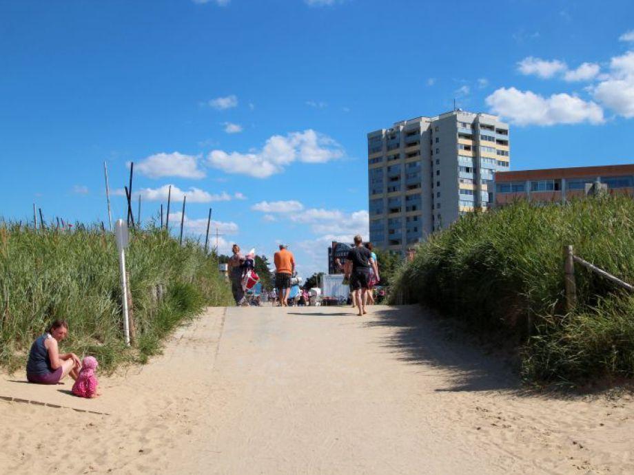 Ferienwohnung Strandhochhaus Shb6 Cuxhaven Sahlenburg