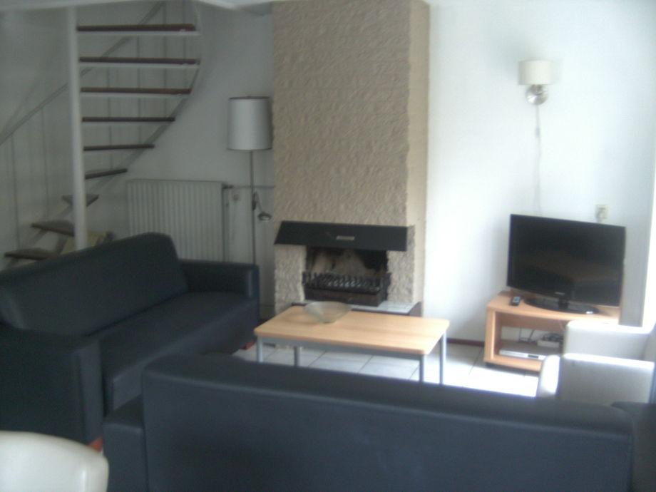 Wohnzimmer im Ferienhaus Mythilus 28