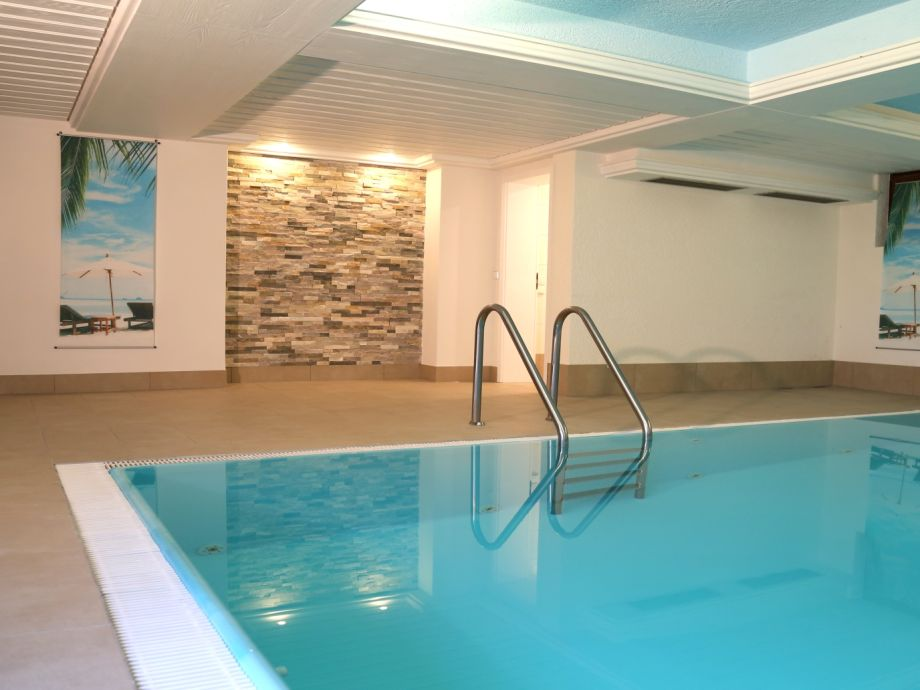 The Heated Indoor Pool Can Be Used Free Of Charge.
