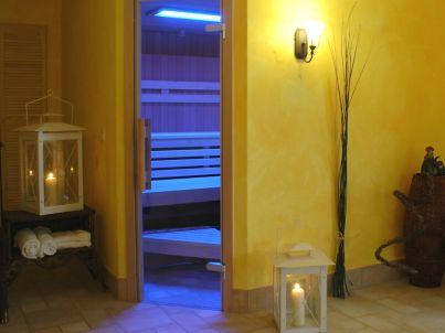 Small mit Indoorpool und Sauna