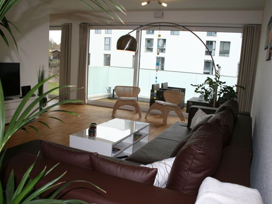 Lüneburg, Apartment am Speicher, Wohnzimmer