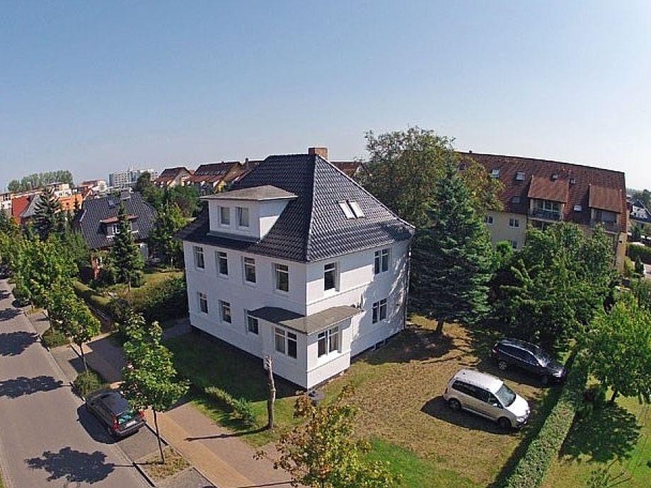 Das Haus - Luftaufnahme