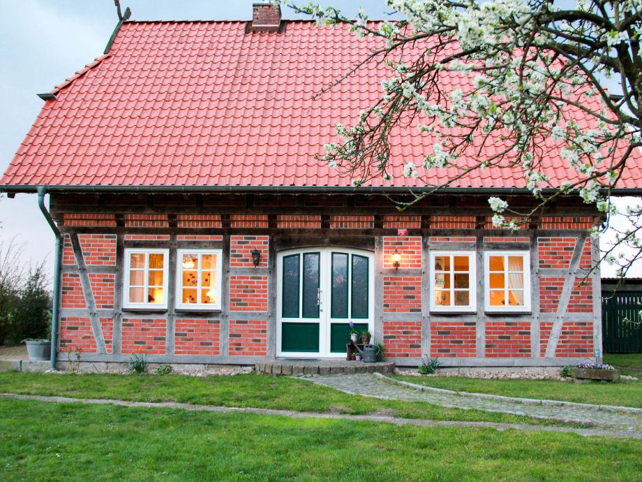 Das Fachwerk-Ferienhaus im Frühling