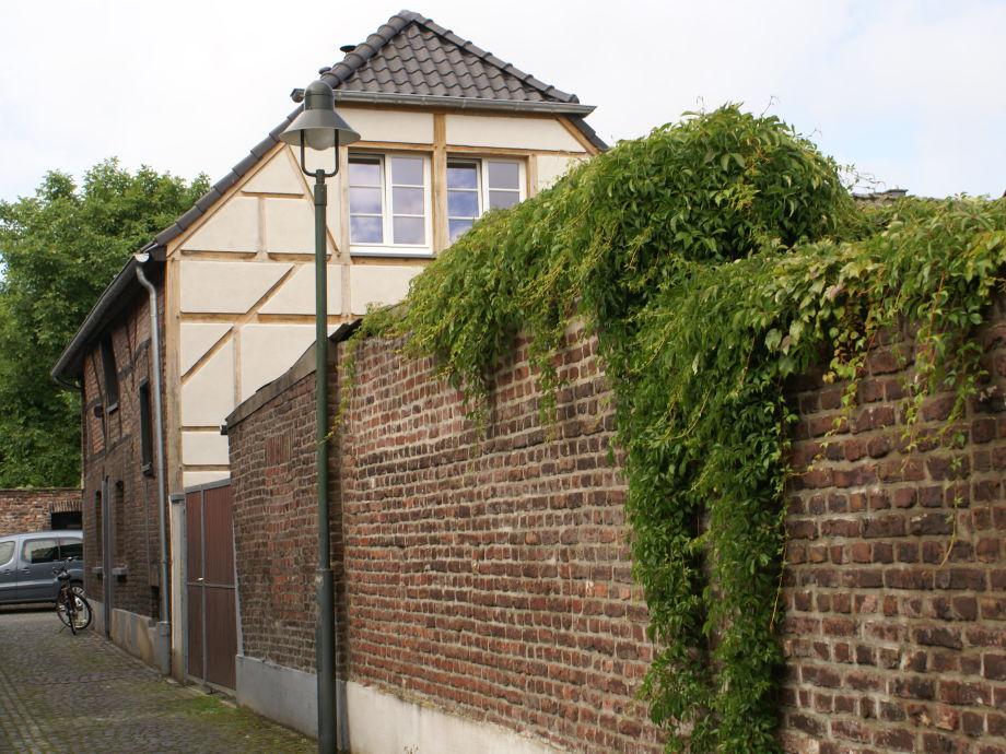 Endepoel Giebelwand mit Innenhof