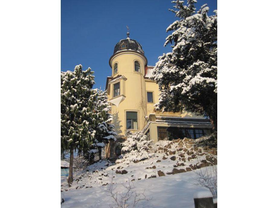 Villa Jagdweg im Winter
