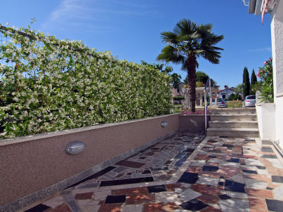 Ferienwohnung Bel Air in der Villa California in Porec