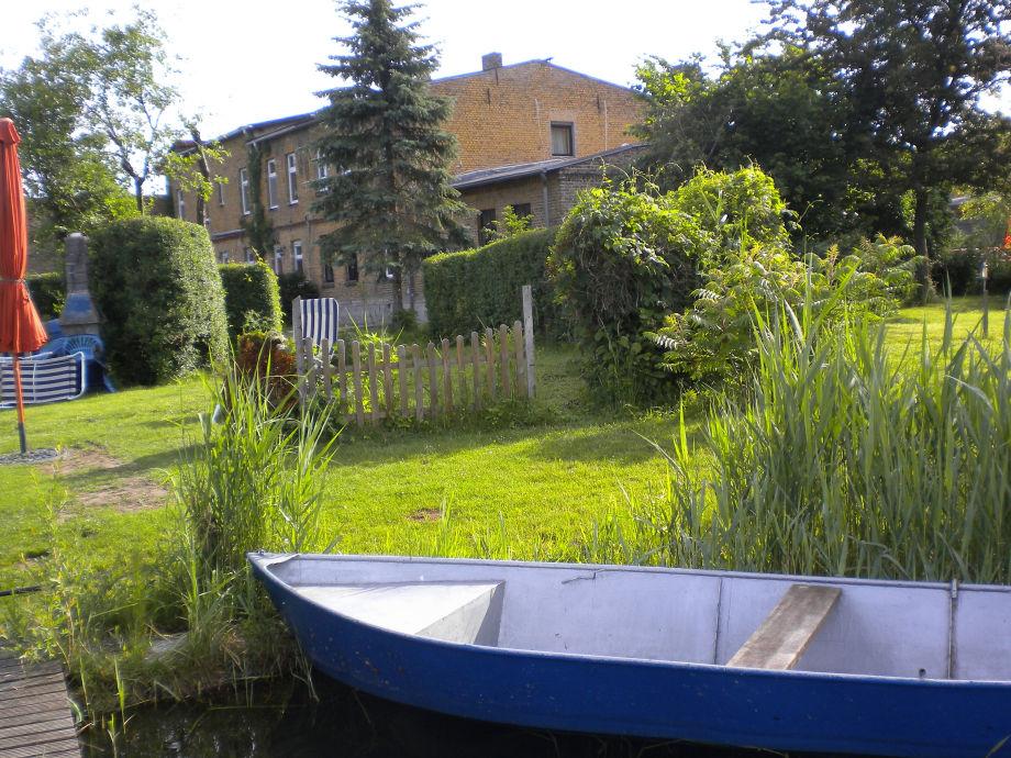 Blick zum Haus - Sommer vom See aus