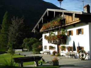 Ferienwohnung Spitzstein auf dem Bergerhof