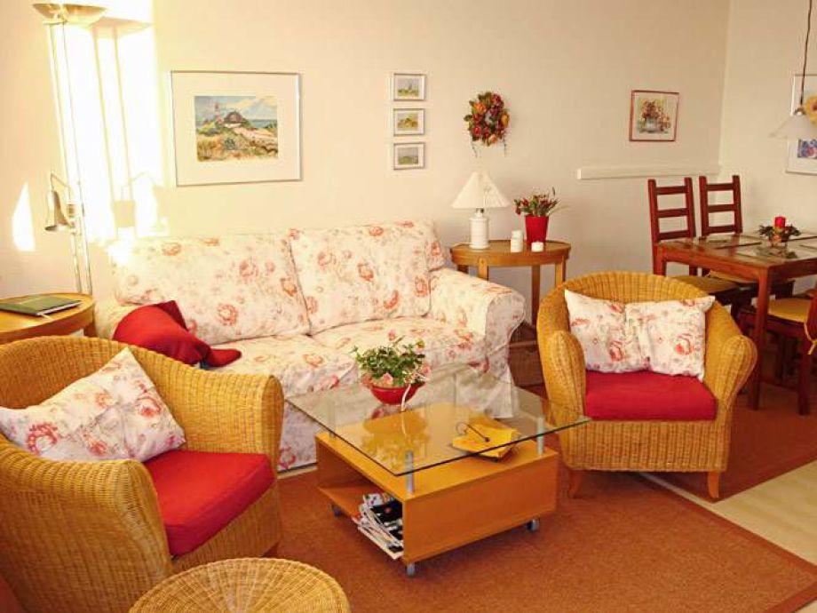 Gemütliche und stilvoll eingerichtete Sitzecke