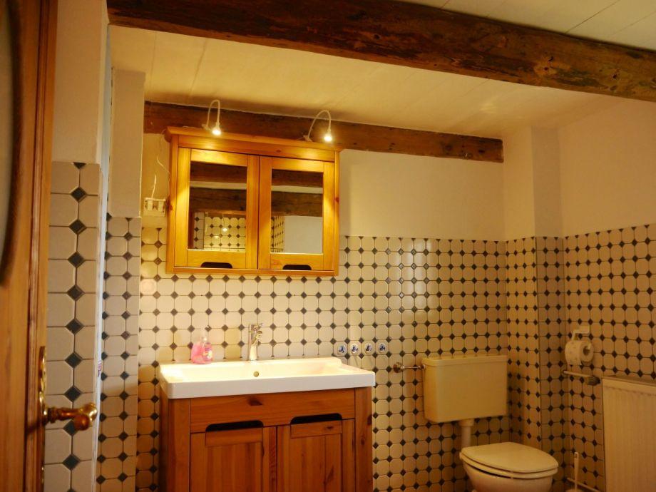 Ferienhaus reetdachkate liselotte nordfriesische inseln - Rustikales badezimmer ...