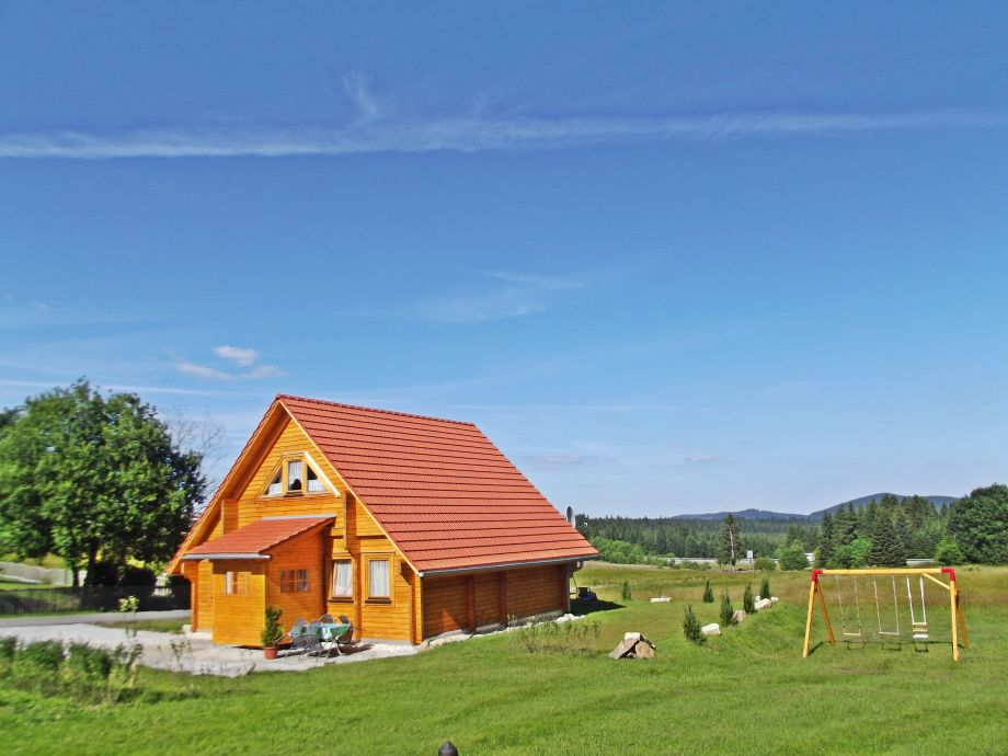 Sommer in Bayerwaldblockhaus
